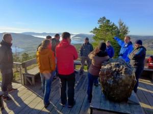 Aussichtsplattform auf dem Skuleberget